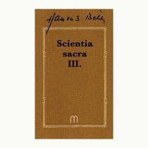 Scientia sacra III. (1 kötet)