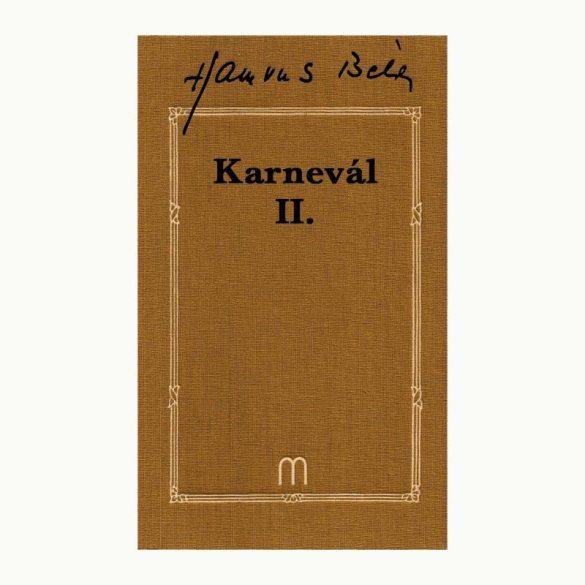 Karnevál I-III. (3 kötet)